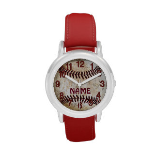 Personalized Baseball Watches for Boys