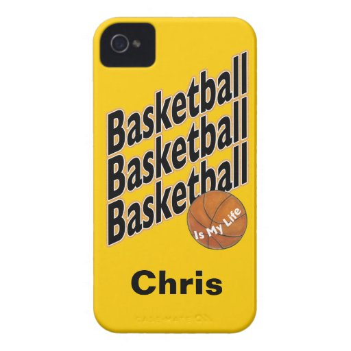 Personalized Basketball Blackberry Case
