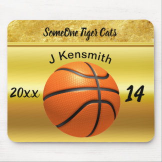 Personalized Basketball Champions League design Mouse Mat