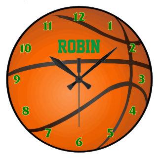 Personalized Basketball Clock