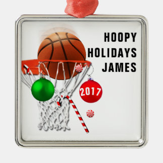 personalized basketball collectible christmas ornament