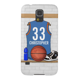 Personalized Basketball Jersey (LBO) Galaxy S5 Case