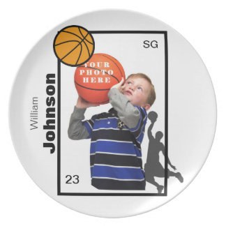 Personalized Basketball Plate