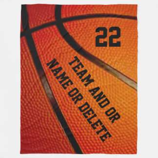 Personalized Basketball Senior Gift Ideas BLANKET