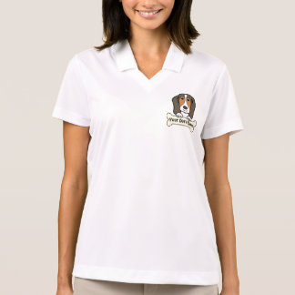 Personalized Basset Hound Polo Shirt