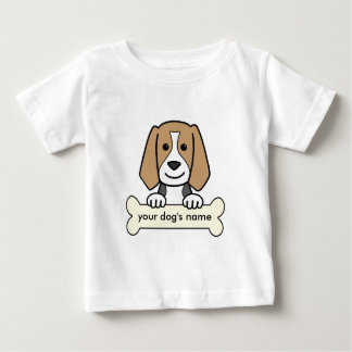 Personalized Beagle Baby T-Shirt