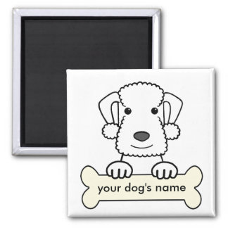 Personalized Bedlington Terrier Magnet