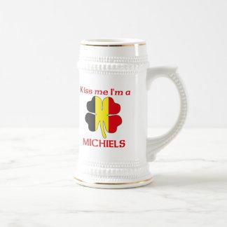 Personalized Belgian Kiss Me I'm Michiels Coffee Mug
