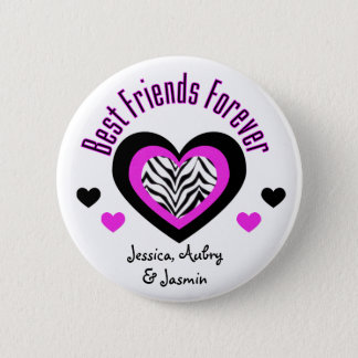 Personalized: Best Friends Forever: Button