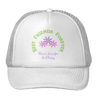 Personalized Best Friends Forever Cap