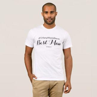 Personalized Best Man T-shirt from Bridal Set