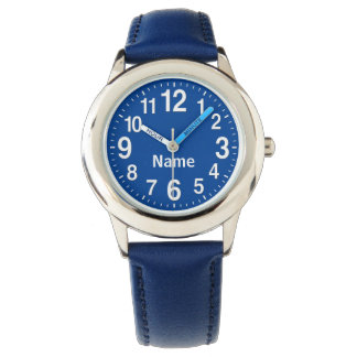 Personalized Big Number Watches for Kids