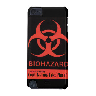 Personalized BioHazard Warning iPod Case iPod Touch (5th Generation) Case