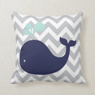 Personalized Birth Details Nautical Pillow