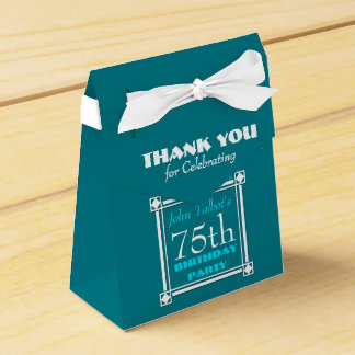 Personalized Birthday Thank You Favor Box Party Favour Box