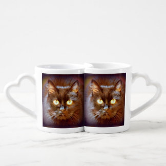 personalized black cats lovers mug