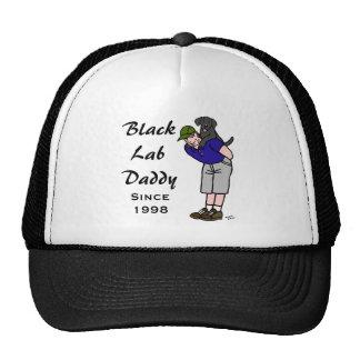 Personalized Black Labrador Daddy Cap
