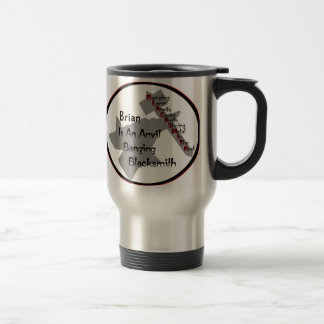 Personalized Blacksmith Travel Mug