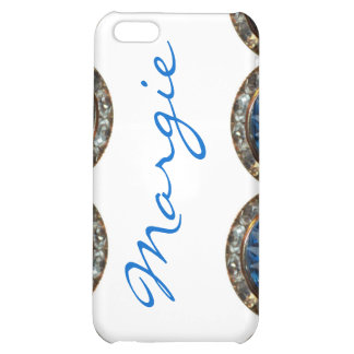 "Personalized ""Bling"" iPhone Case Template iPhone 5C Cover"