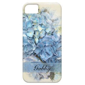 Personalized Blue Hydrangea iPhone 5 Case-Mate