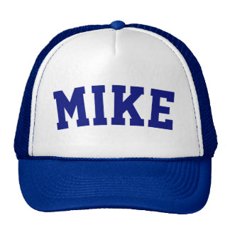Personalized Blue Short Name Cap