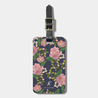 Personalized | Blush Bouquet Luggage Tag