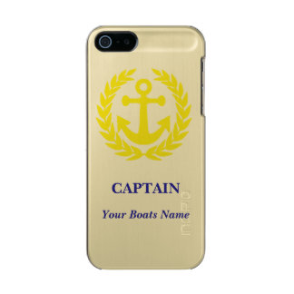 Personalized boat captains incipio feather® shine iPhone 5 case
