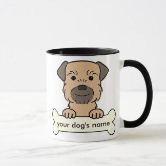 Personalized Border Terrier Mug