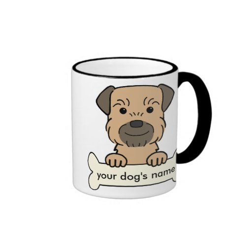 Personalized Border Terrier Coffee Mug