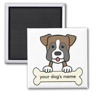 Personalized Boxer Magnet