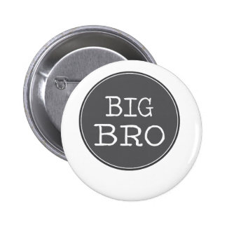 Personalized Boys Big Brother Gifts 6 Cm Round Badge