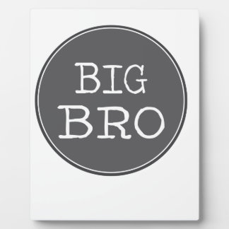 Personalized Boys Big Brother Gifts Display Plaques