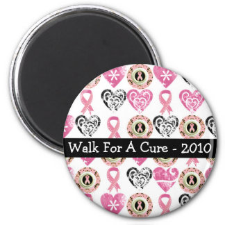 Personalized Breast Cancer Awareness Magnets
