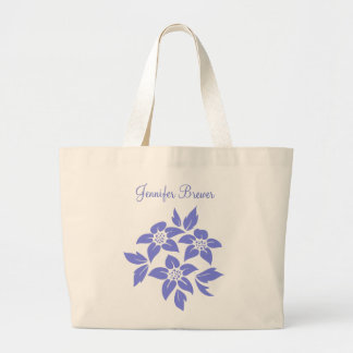 Personalized Bridal Party or Wedding Gift w/ Name Jumbo Tote Bag