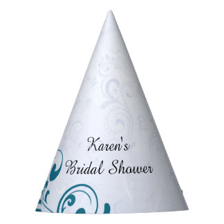 Personalized Bridal Shower Party Hats