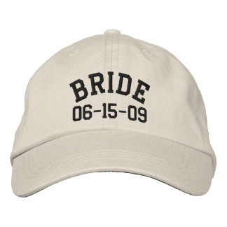 Personalized Bride Embroidered Hat