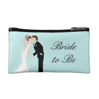 Personalized Bride Wedding Cosmetic Bag
