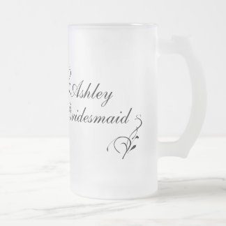 Personalized Bridesmaid Mug