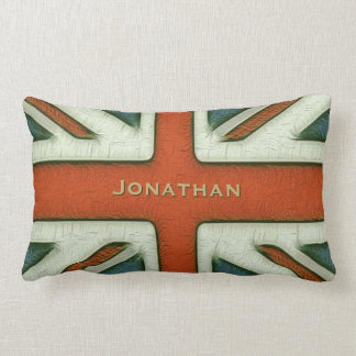 Personalized British Flag Pillow
