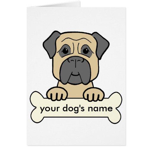 Personalized Bullmastiff Cards