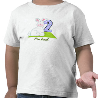 Personalized Bunny T Shirt (2 years old)