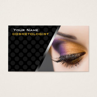 Personalized BusinessCards For Cosmetologists Business Card