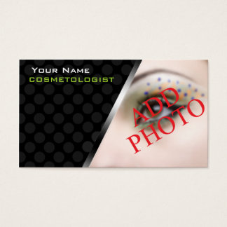 Personalized BusinessCards For Makeup Artists Business Card