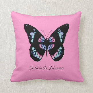 Personalized Butterfly American MoJo Pillow