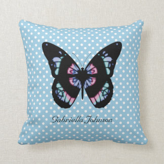Personalized Butterfly American MoJo Pillow Throw Cushions