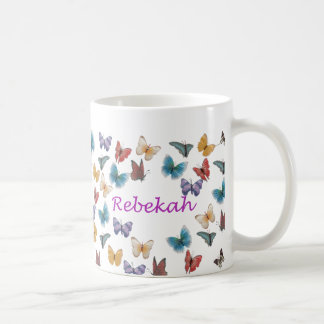 Personalized Butterfly Mug - Rebekah