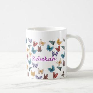 Personalized Butterfly Mug - Rebekah