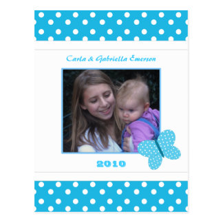 Personalized Butterfly Postcard