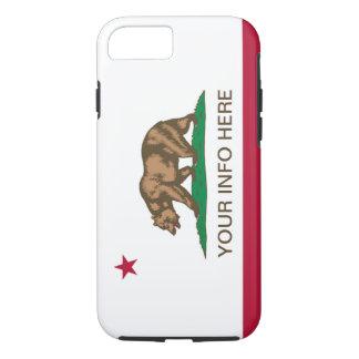 Personalized California Republic Flag iPhone 7 Case