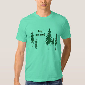 Personalized Camp T-shirt